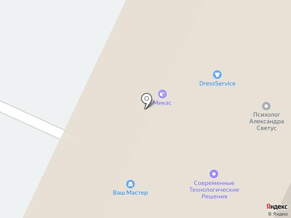 Псков женский на карте Пскова