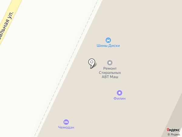 Чемодан на карте Пскова