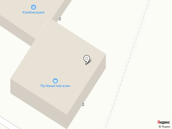 Путёвый на карте Пскова