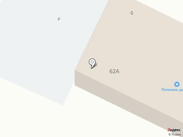 Резонанс Дачник на карте Пскова