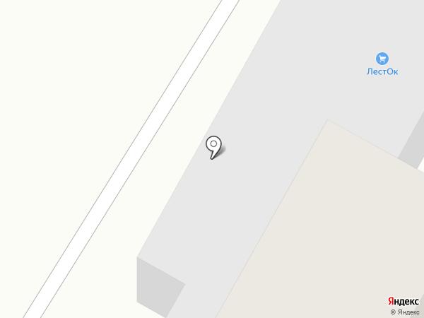 ЛестОК на карте Пскова