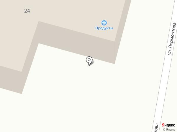 Астрея на карте Пскова
