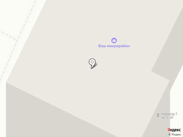 Микрорайон №17 на карте Пскова