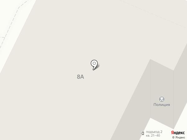Участковый пункт полиции на карте Пскова