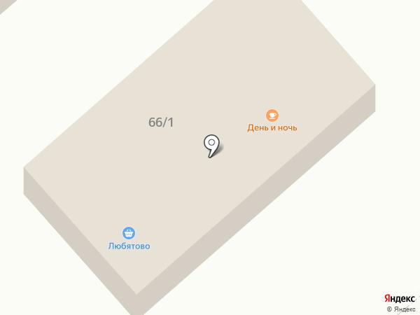 День и ночь на карте Пскова