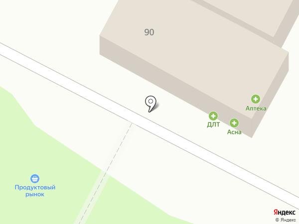 Фуд-Лэнд на карте Пскова