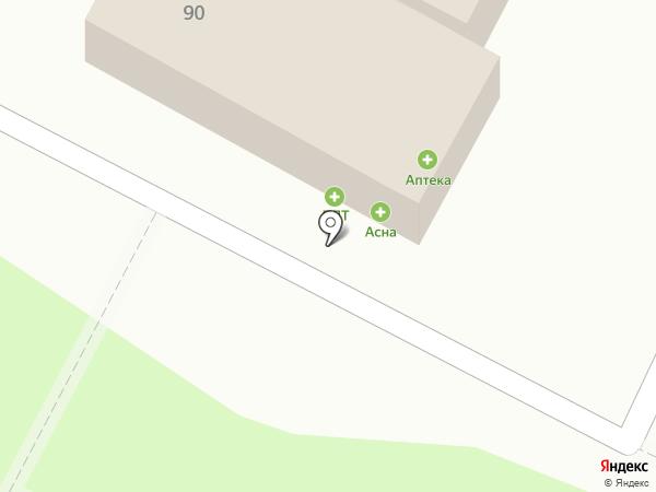 Фудлэнд на карте Пскова
