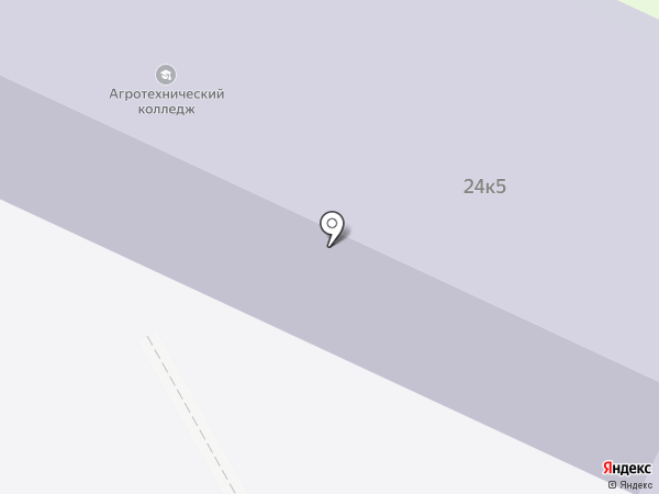 Избирательный участок №22 на карте Пскова