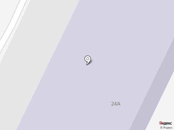 Автосервис на Ленинградском шоссе на карте Пскова