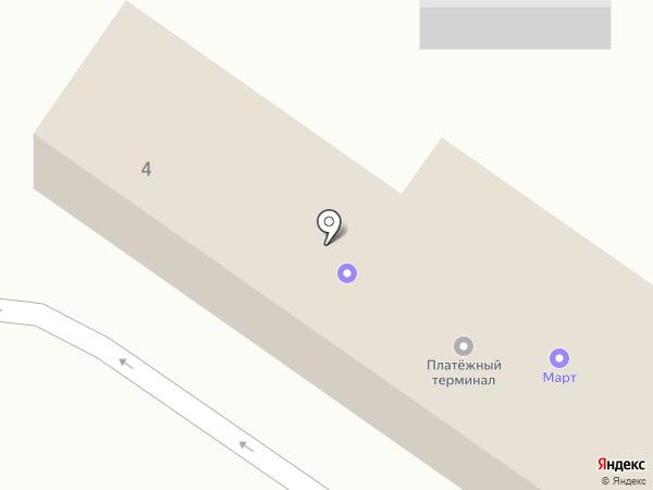 Март на карте Пскова
