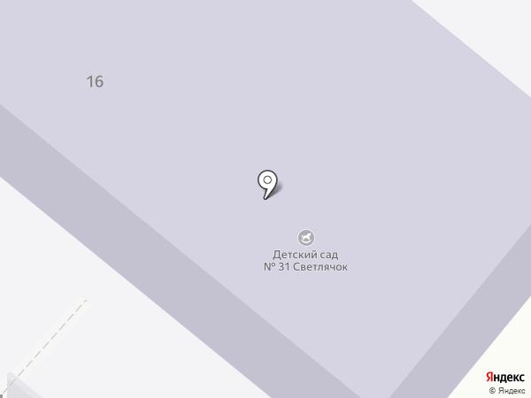 Детский сад №31 на карте Большой Ижоры