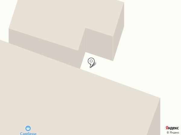 Самбери на карте Большой Ижоры