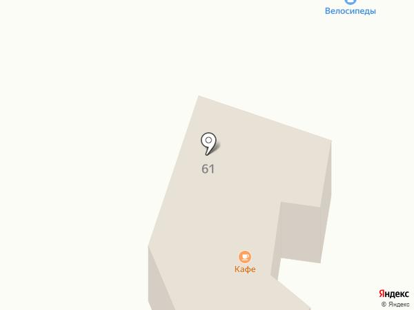 Бистро на Приморском шоссе на карте Большой Ижоры