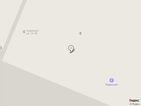 Каравай на карте Санкт-Петербурга