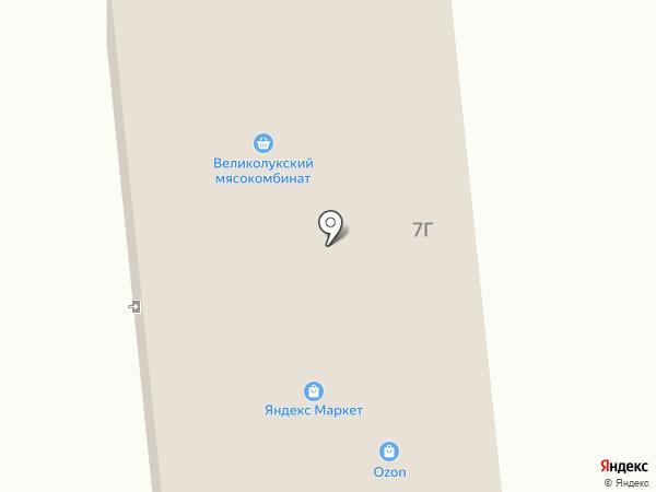 Магазин хозтоваров на Ропшинском шоссе на карте Кипеня