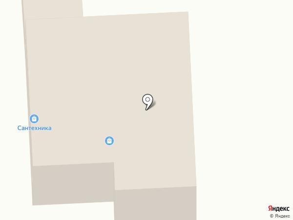 Магазин сантехники на карте Кипеня