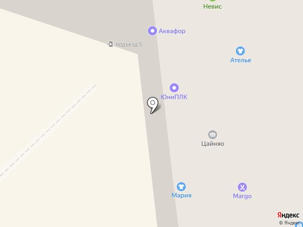 Марго на карте Санкт-Петербурга