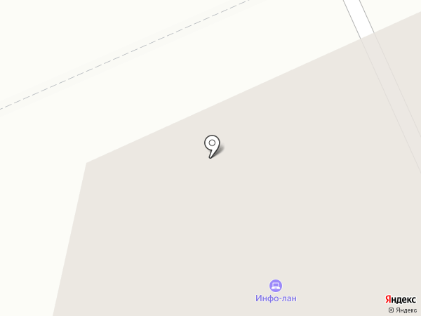 Info-Lan на карте Санкт-Петербурга
