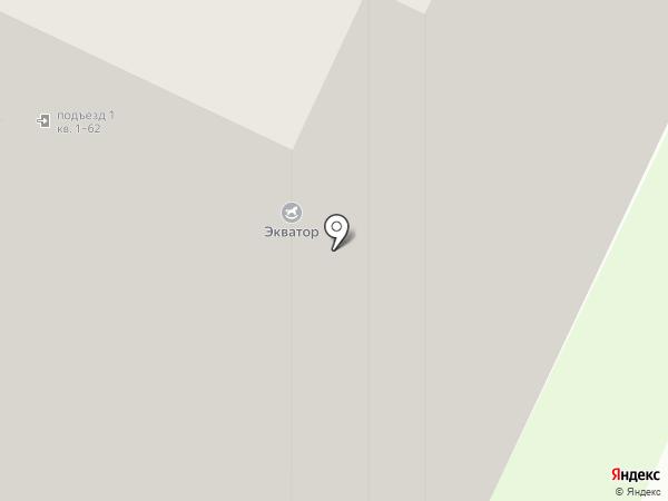Экватор на карте Санкт-Петербурга