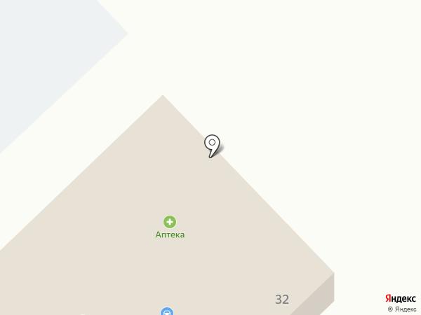 Продуктовый магазин на карте Разбегаево