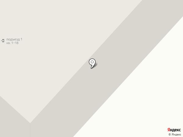 Вектор на карте Аннино