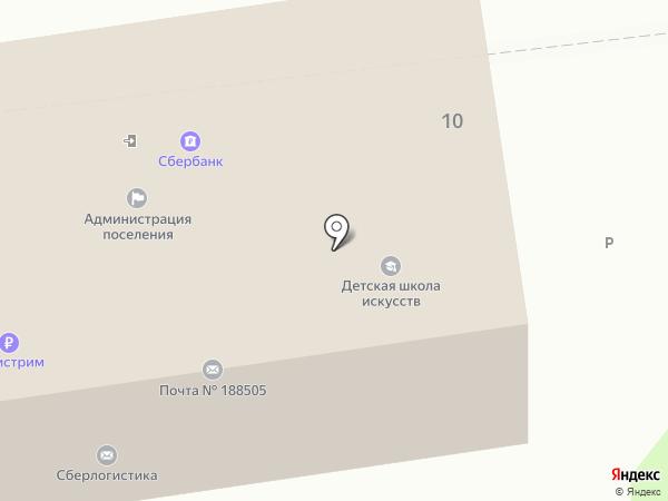 Северо-Западный банк Сбербанка России на карте Аннино