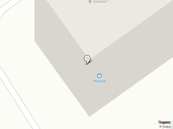 Натали на карте Гатчины