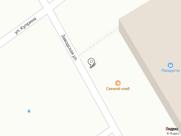 Магазин хлеба на карте Гатчины