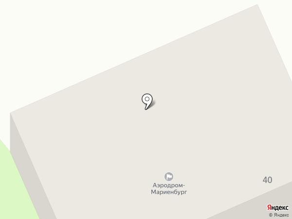 Совет ветеранов микрорайона Мариенбург на карте Гатчины