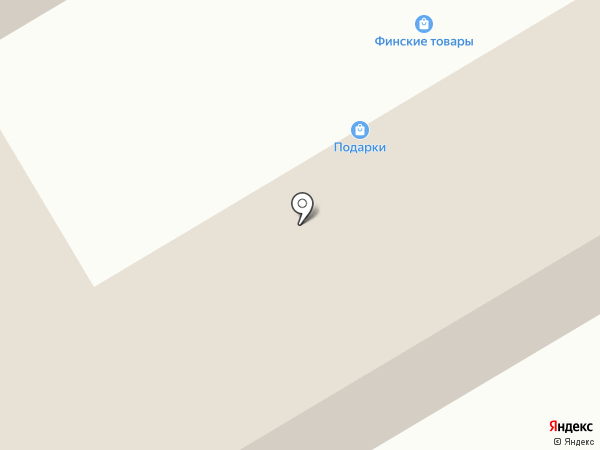 Магазин хозтоваров и посуды на карте Гатчины
