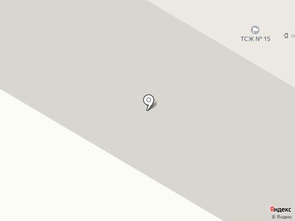 Тандем на карте Гатчины