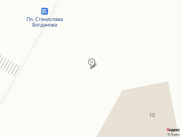 Кафе на ул. Авиатриссы Зверевой на карте Гатчины