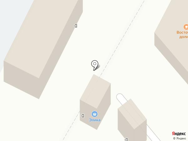Восточная долина на карте Гатчины