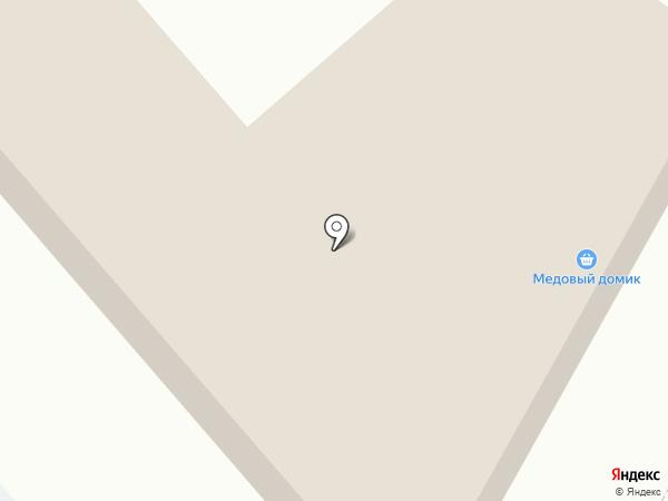 Медовый домик на карте Гатчины