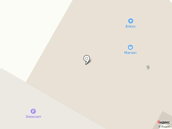 Блеск на карте Гатчины