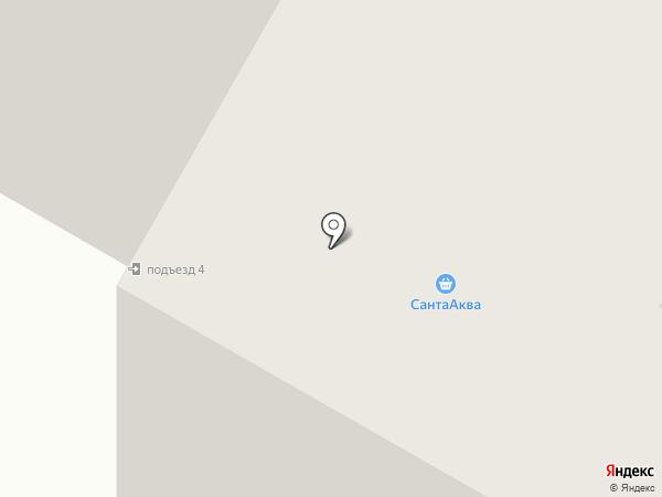 Семицветик на карте Гатчины