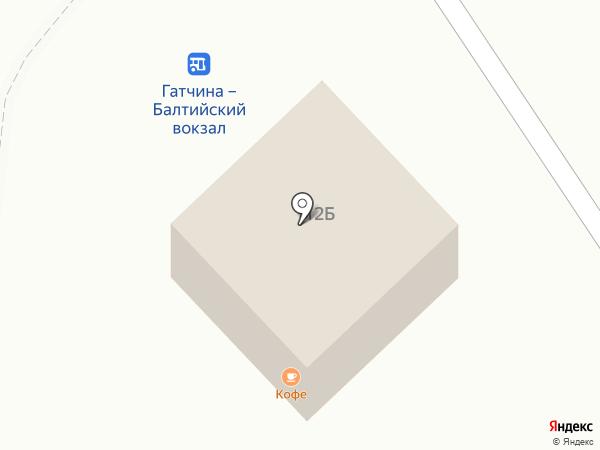 Остановка на карте Гатчины