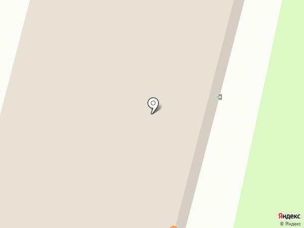 Росто на карте Гатчины