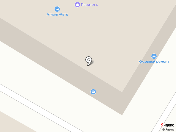 Автомакс на карте Гатчины