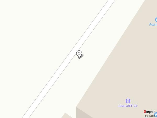 Шиномонтажная мастерская на карте Гатчины