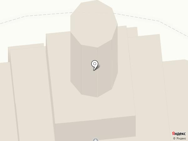 Храм Святителя Алексия Митрополита Московского на карте Тайцев
