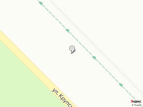 Домик на карте Гатчины