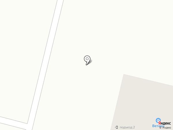 Ветико на карте Гатчины