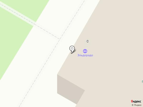 Гатчинская детско-юношеская спортивная школа №1 на карте Гатчины