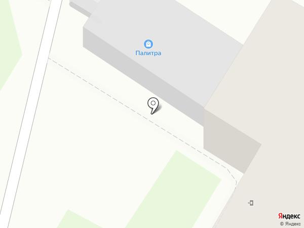 Палитра на карте Гатчины