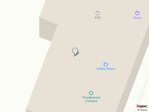 Госбетон на карте Гатчины