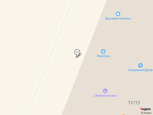 Вариант на карте Гатчины
