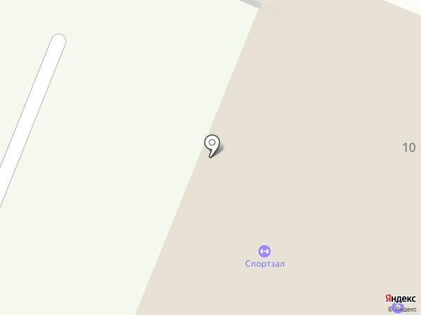 Тенториум на карте Гатчины