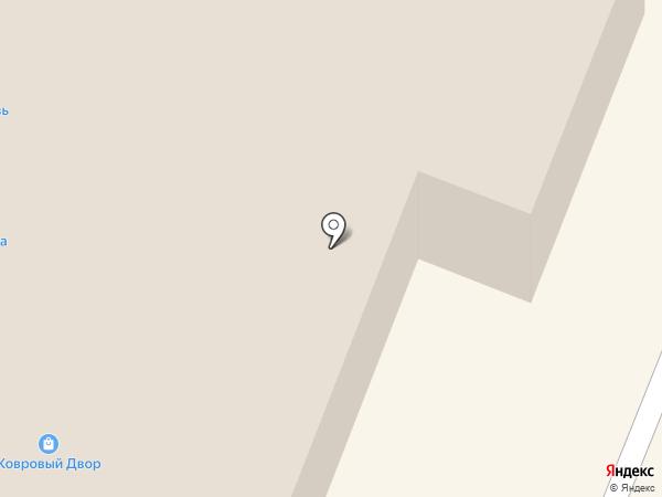 Ковровый двор на карте Гатчины