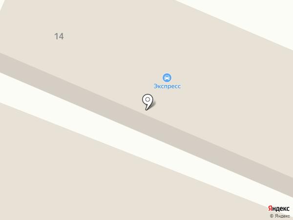 Экспресс на карте Гатчины